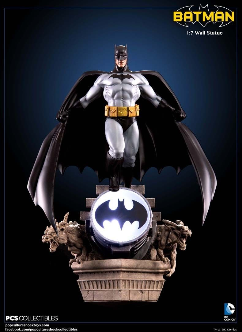DC Comics  Batman Modern Age 1 7 Scale Wall Statue POP KultURE SHOCK pcs