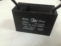 Ceiling Fan Capacitor Cbb61 8uf 2 Wire 450v A381