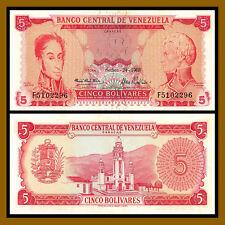 5.11.2015 p92j x 5 PCS UNC Venezuela 50 Bolivar Fuerte LOT