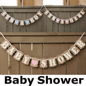 Personalised-Baby-Shower-BANNER-boy-girl-pink-blue-lilac-decorations-bunting