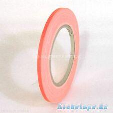 Neon Gaffa Tape 5mm x 25m Gewebeband Orange Fluoreszierend UV Aktiv Panzertape