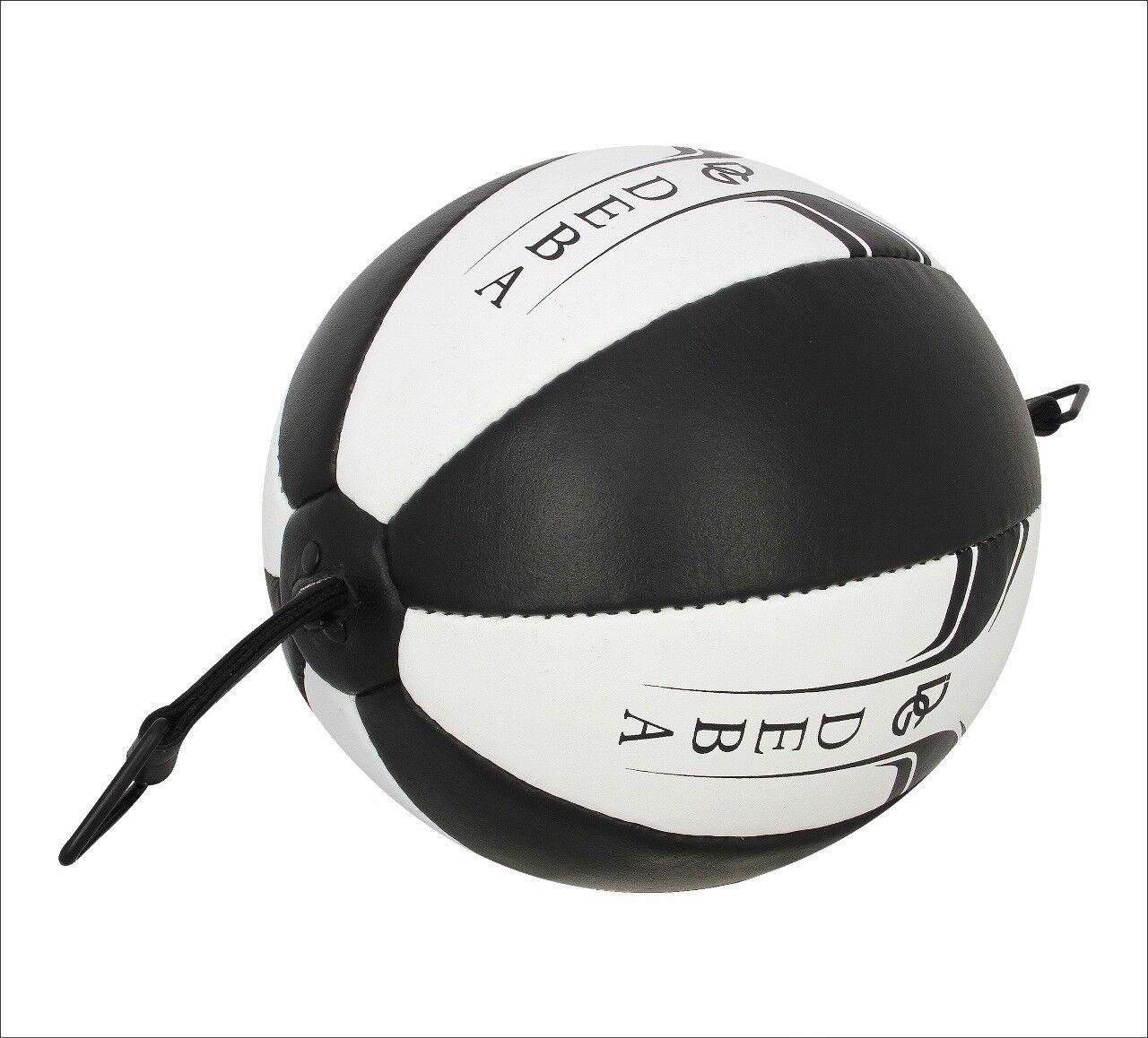 Deba® Punchingball aus Rindsleder Cowhide DE Doppelendball Speedball Boxbirne DE Cowhide 5f1716