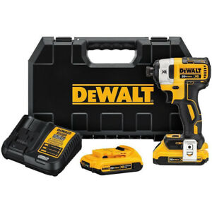Dewalt-DCF887D2R-20V-MAX-XR-Li-Ion-1-4-034-Impact-Driver-w-2-0-Ah-Batteries-Recon