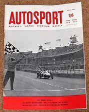 Autosport 6/5/60* AINTREE 200 INTERNATIONAL - TULIP RALLY - ROVER 80 and 100