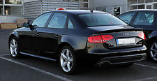 Audi A4 8K B8 FL Diffusor Spoiler Standart Stoßstange ohne S-Line Doppel Links !