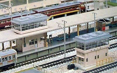Kato 23-315 Station & Signal Tower Set (N scale)