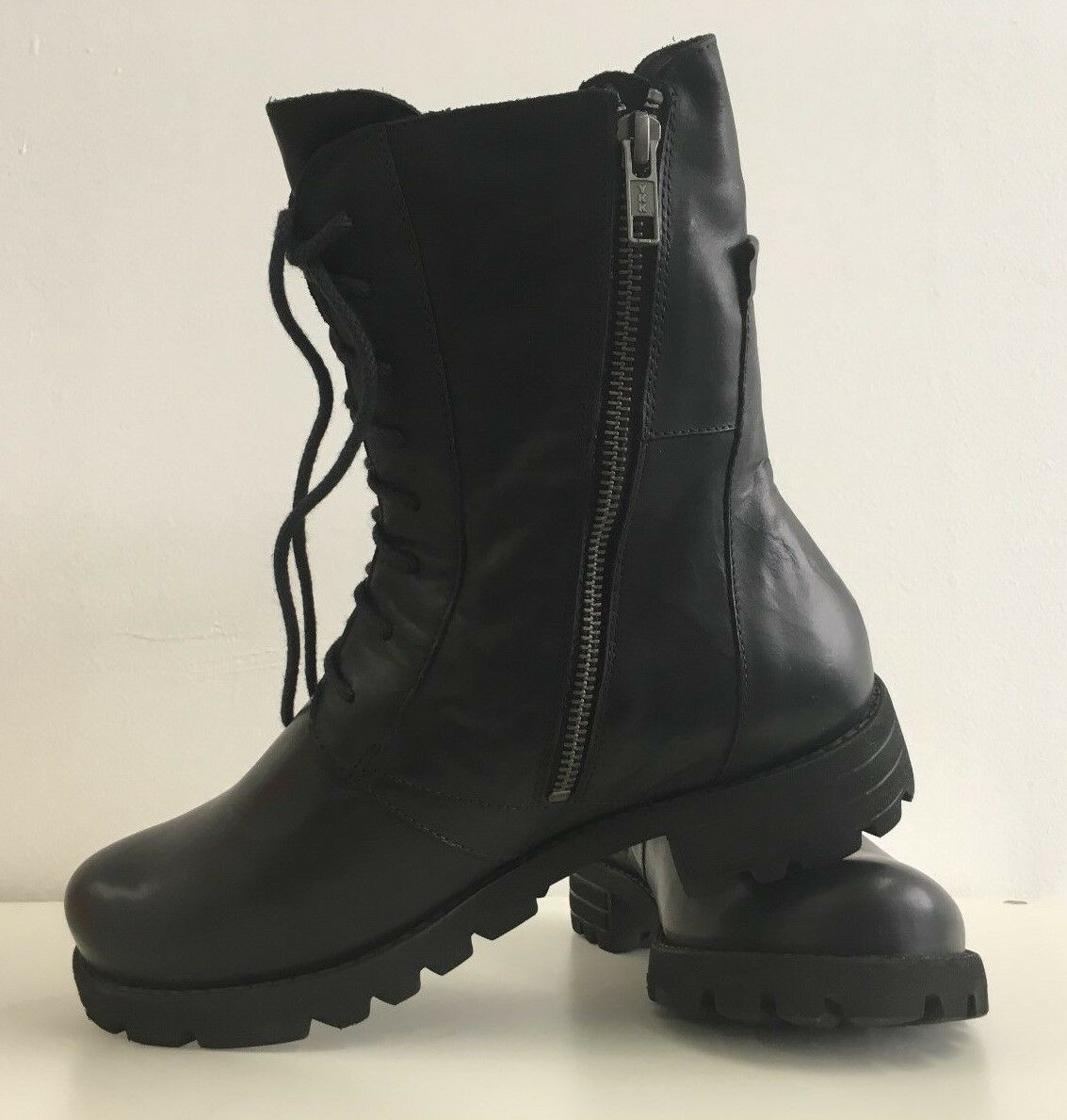 Damen Stiefelette Schuhe schwarz Stiefel Winterschuhe THINK  36 NEUWARE TH1-2#