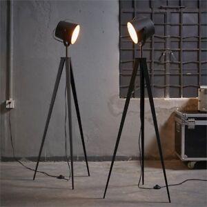 Tripod Floor Lamp 3 Legs Modern 6 Ft Urban Black Rose Gold Metal