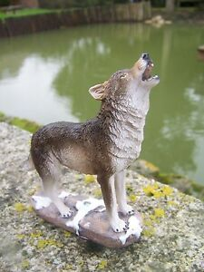 Mo0458 Figurine Statuette Loup Louve Animal Sauvage N4gn9dxk-07222851-669419459