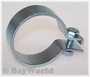 1-x-70-5mm-DIN-Schelle-Stahl-verzinkt-2-75-034-Zoll-Auspuffschelle-Breitbandklemme