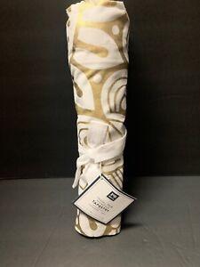 Pottery Barn Teen Tassel Trim Mandala Tapestry Wall Gold
