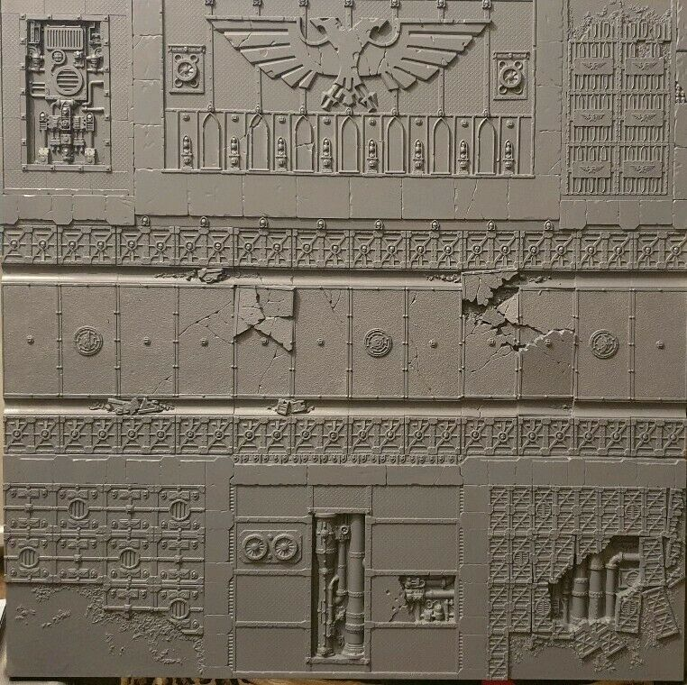 Tienda 2018 Warhammer Warhammer Warhammer 40k Armies On Parade Realm Of Battle Sector Imperialis Scenery  tienda en linea