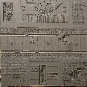 Warhammer 40k Armées Sur Parade Realm Of Battle Sector Imperialis Paysage-afficher Le Titre D'origine