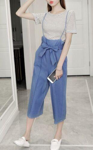 Pantalones Completo Blanco Conjunto Agua Mujer Alto Mono 3772 De OZw5Utq