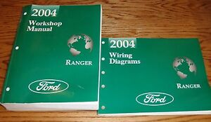 2004 Ford Ranger Truck Shop Service Manual + Wiring ...