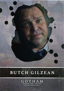 Gotham Season 2 Rising Villains Chase Card V1 Butch Gilzean