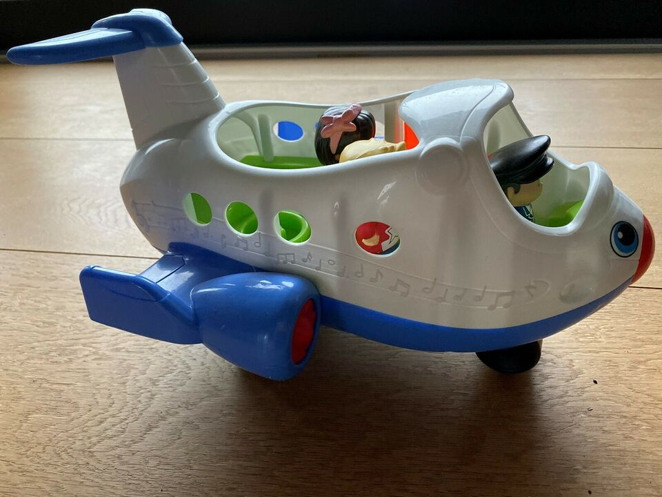 Andet legetøj, Flyvemaskine, Little people /
