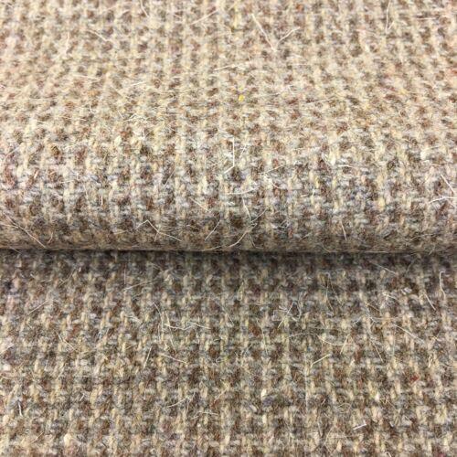 836 Compruebe Pequeño Tweed Tela 100/% Lana Tela precio por 1//2 metros