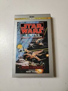 Star-Wars-X-Wing-Fighter-Rouge-Squadron-Audio-Cassette-Story-Book-Rebels-Empire