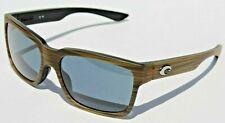 Copper 580P lens NEW COSTA DEL MAR PLAYA SUNGLASSES Matte Verde Teak//Black