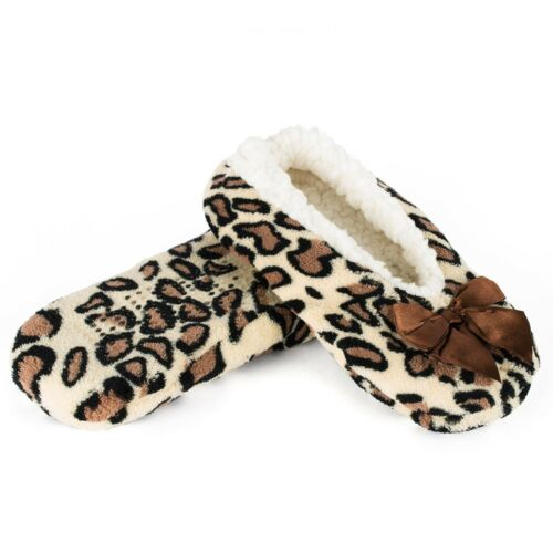 Animal Pattern Indoor Slippers with Gripper Sole