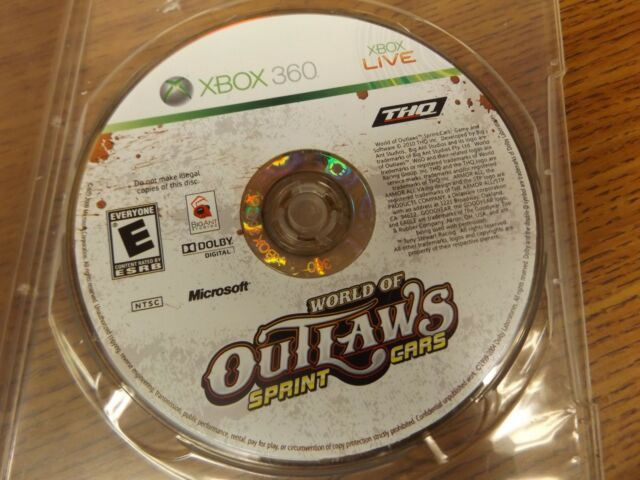 World of Outlaws: Sprint Cars game for Microsoft Xbox 360 - Game Only - Tested