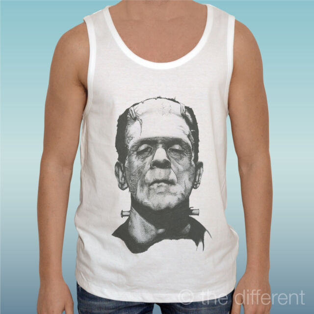 "Tank Top T-Shirt "" Frankenstein Monster Film Vintage ..."