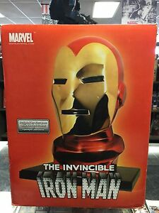 RARE-ALEX-ROSS-LIFE-SIZE-IRON-MAN-BUST-43-of-250-DYNAMIC-FORCES-STATUE