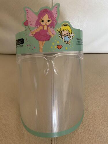 Safety Reusable Face Shield For Kids Anti Splash Anti Fog 1 pair hello kitty