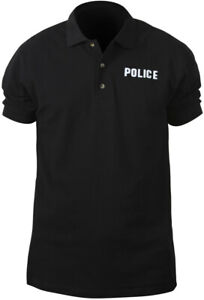 Black-Double-Sided-Police-Law-Enforcement-Short-Sleeve-Polo-Golf-Shirt