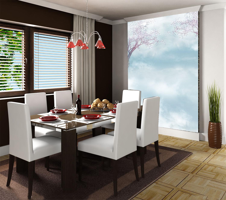 3D Himmel Blaume Baum 74 Tapete Wandgemälde Tapete Tapeten Bild Familie DE Summer