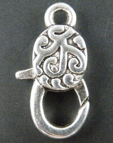 20pcs Tibetan Silver Lobster Clasps /& Hooks 30x16x7mm b0009