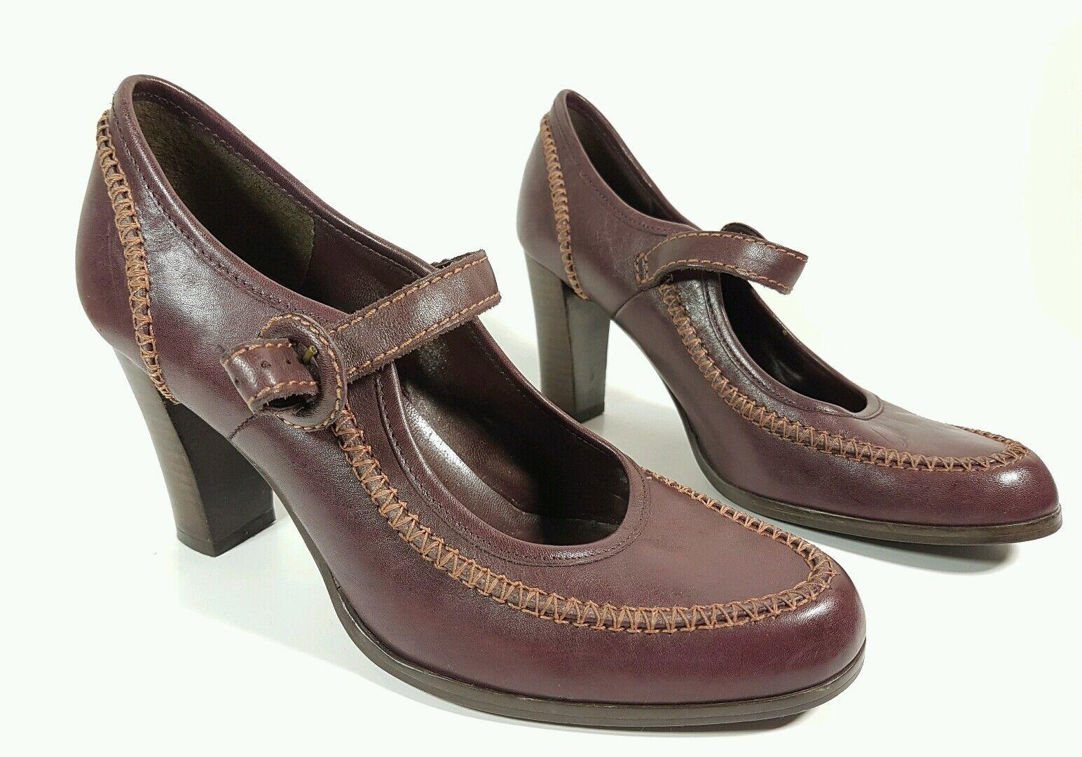Miss Selfridge purple leather Eu high heel shoes Eu leather 38 71c66f
