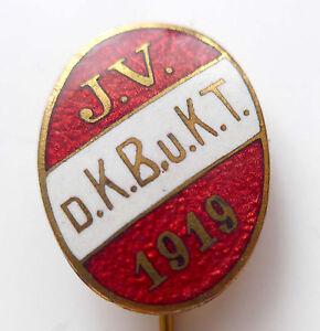 D.k.b 1919- Evt K.t U Unbekannte Nadel -j.v Reservist- Oder Sportverein Seien Sie Im Design Neu