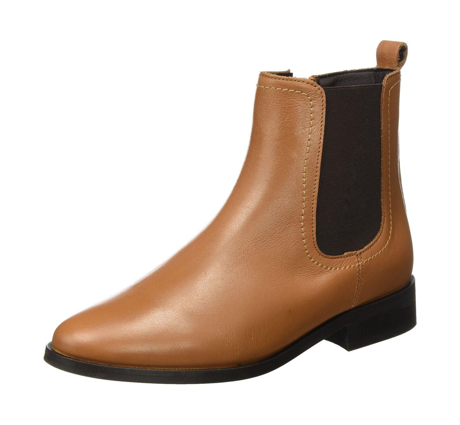 Buffalo Damens's ES 0) 30855l Sauvage Chelsea Stiefel Braun (Cognac 01 0) ES 4.5 UK 553471