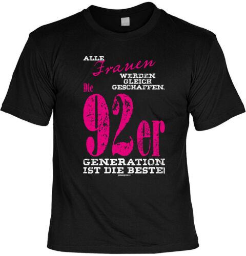 Geburtstag 27 Jahre Sprüche Frauen Mama Jahrgang 1992 27.Geburtstag T-Shirt