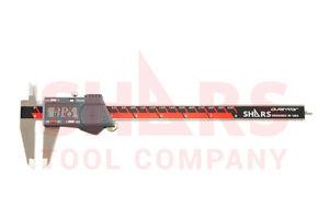 "SHARS Aventor 8"" /200mm DPS IP54 Electronic Digital Caliper DIN862 .0005"" NEW"
