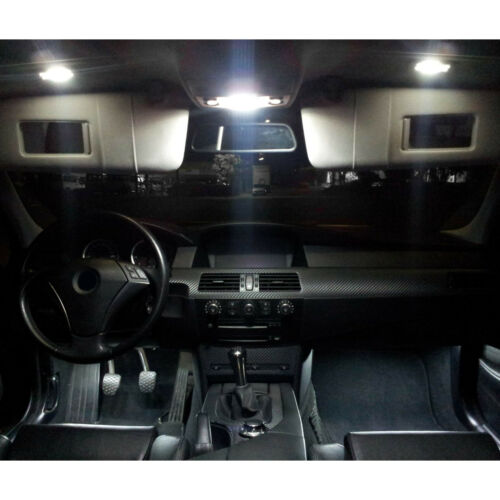 SMD LED Innenraumbeleuchtung komplett Set  Ford Kuga Xenon Weiss Innenlicht