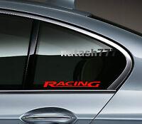 2 - Racing Bmw M3 M5 M Power E36 E39 E46 E60 Decal Sticker Emblem Logo Red