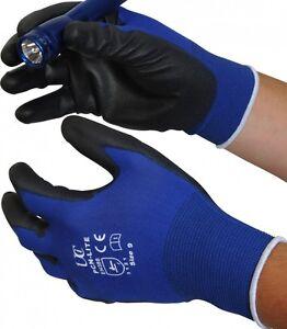 10-x-UCI-PCN-Lite-BLUE-Ultimate-lightweight-Precision-Gloves-PU-Palm-Coated