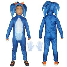 Sonic The Hedgehog Kids Costume Video Game Costumes Child Size Medium For Sale Online Ebay