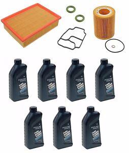 bmw e46 m54 engine oil change filter kit 330i 325i 325ci 325xi z4 7 ltr genuine ebay. Black Bedroom Furniture Sets. Home Design Ideas