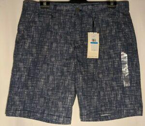 MEN-039-S-CALVIN-KLEIN-PRINTED-TWILL-SHORTS-COTTON-SIZE-36-034-LEG-9-034-NWT-RRP-59-50
