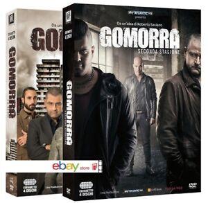 GOMORRA-STAGIONE-1-e-2-8-DVD-COFANETTI-SINGOLI-SERIE-COMPLETA-TV-ITALIANA