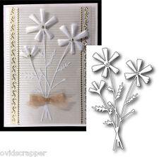 Flowers die - FRANGIA BOUQUET - Memory Box dies 98568 - leaves,stems,flower