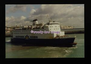 fq0109-Belgian-Oostende-Dover-Ferry-Prins-Albert-at-Dover-photograph-6x4