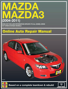 2008 mazda 3 haynes online repair manual select access ebay rh ebay com 2008 mazdaspeed 3 repair manual 2008 mazda 3 repair manual download