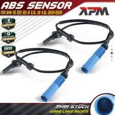 2x ABS Sensor Raddrehzahl Drehzahlfühler Hinten Links Rechts BMW X5 E53 00-03