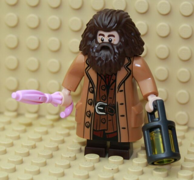 Harry Potter Rubeus Hagrid Minifigur NEU OVP Lego Alternative kompatibel