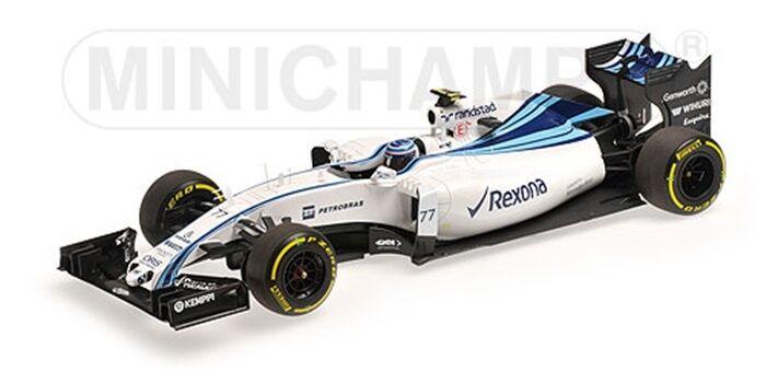 F1 williams MERCEDES fw37 GP Abu Dhabi 2015 Bottas rexona New Minichamps 1 18